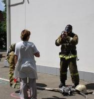 Тренировочная эвакуация