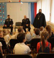 Встреча с казачеством и духовенством