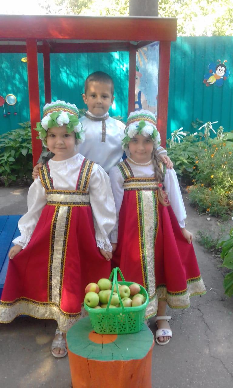 Тематическая неделя «Яблочный спас»