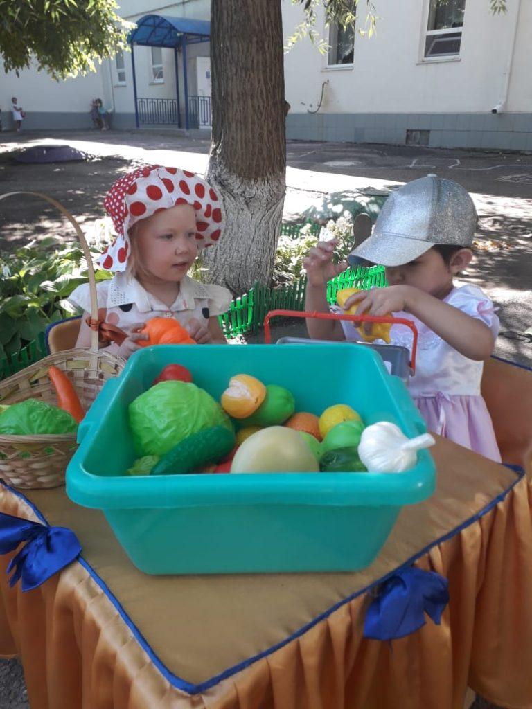 Тематическая неделя «Огородники»