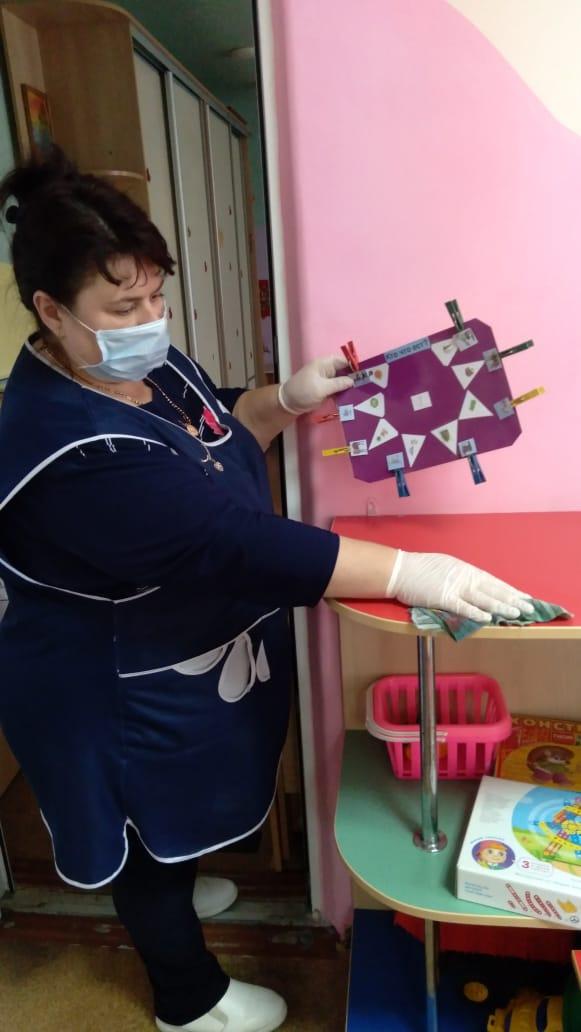 Профилактика коронавируса. Работа ДОУ в условиях пандемии