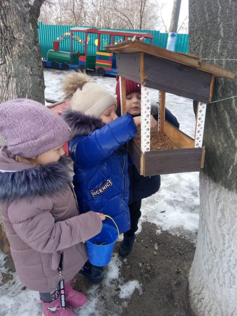"""""""Покормите птиц зимой"""""""