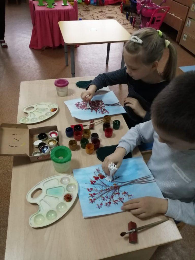 Наше творчество в рисовании